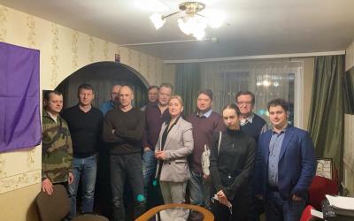 Дискуссионный клуб Движения Захара Прилепина в Санкт-Петербурге продолжает свою работу