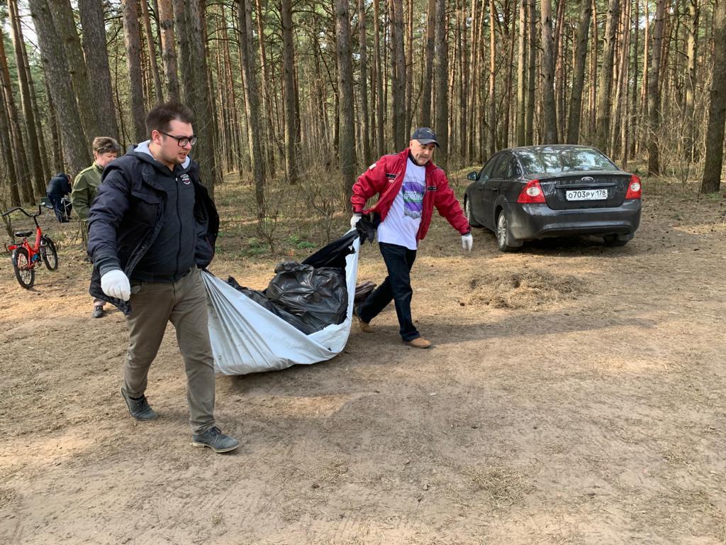 Движение Захара Прилепина в рамках проекта ЭкоСигал продолжает эстафету субботников по всей России 17
