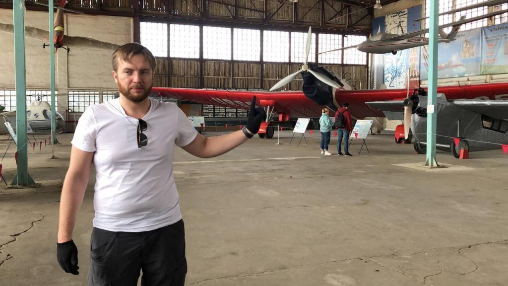 Субботник Гвардии Захара Прилепина в Центральном музее ВВС 4