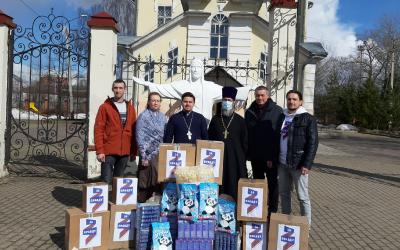 Подарок к Пасхе Христовой от Движения Захара Прилепина в Вологде