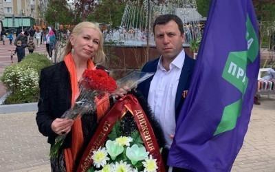 День Победы в городе Первого Салюта