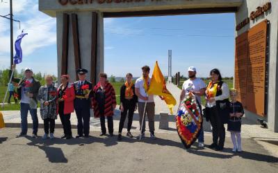 Активисты Движения Захара Прилепина посетили  Осетровский плацдарм