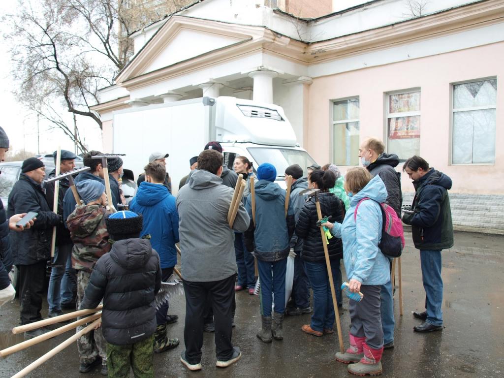 Субботник в Екатеринбурге силами неравнодушных 1
