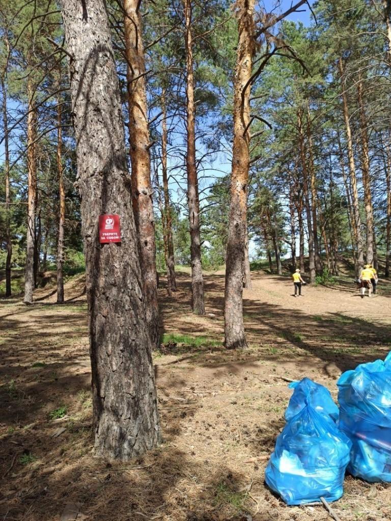 Сторонники СРЗП в Саратовской области провели субботник в Марксе 2