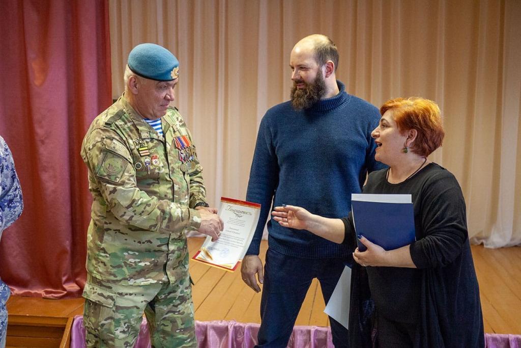 Активисты Движения Захара Прилепина провели «Урок мужества» в нижегородском детском доме 6