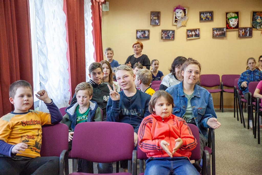 Активисты Движения Захара Прилепина провели «Урок мужества» в нижегородском детском доме 4