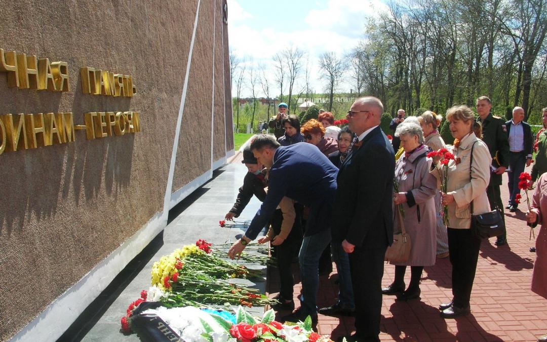 Акция на Скорбященском мемориальном комплексе