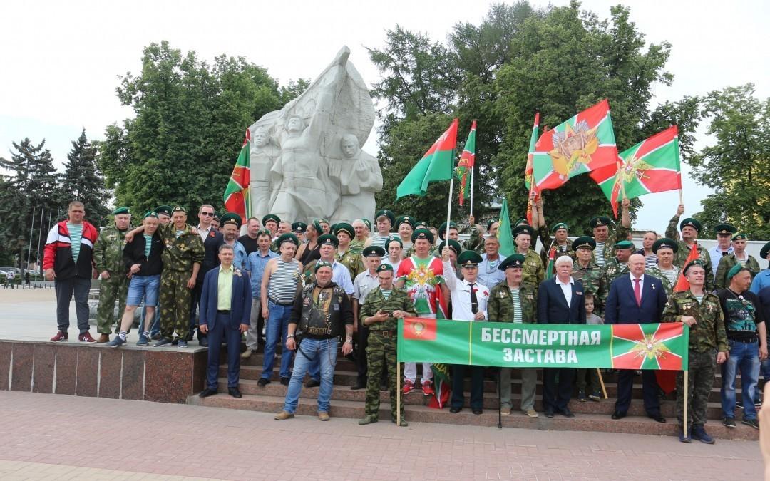 Представители Движения и Гвардии Захара Прилепина приняли участие в праздновании Дня пограничника в Рязани