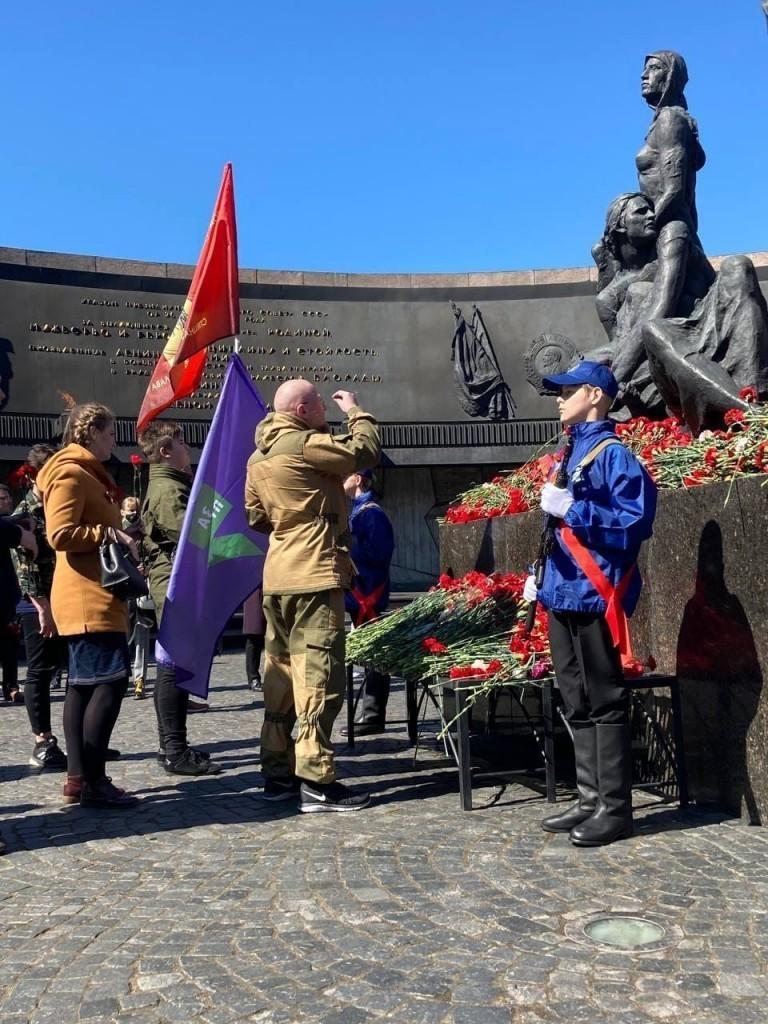 Автопробег в честь Победы в Санкт-Петербурге 3
