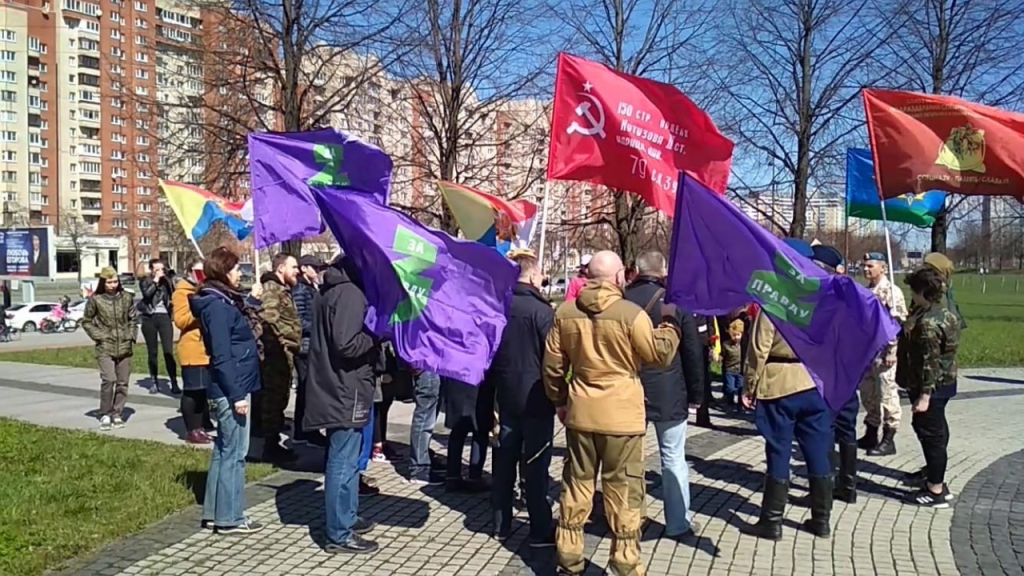 Автопробег в честь Победы в Санкт-Петербурге 5