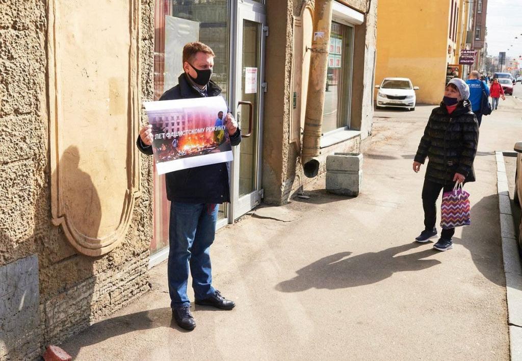 Гвардия и Движение Захара Прилепина призовут к ответу за Одессу 5