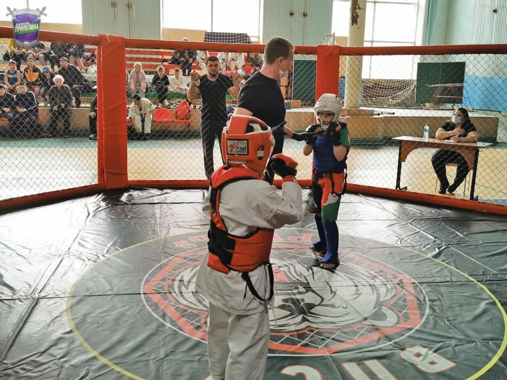 Юные бойцы показали настоящий спортивный дух 1