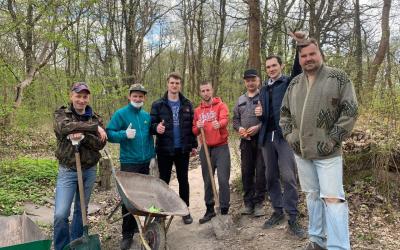 Суздальский парк в Калининграде обновляется