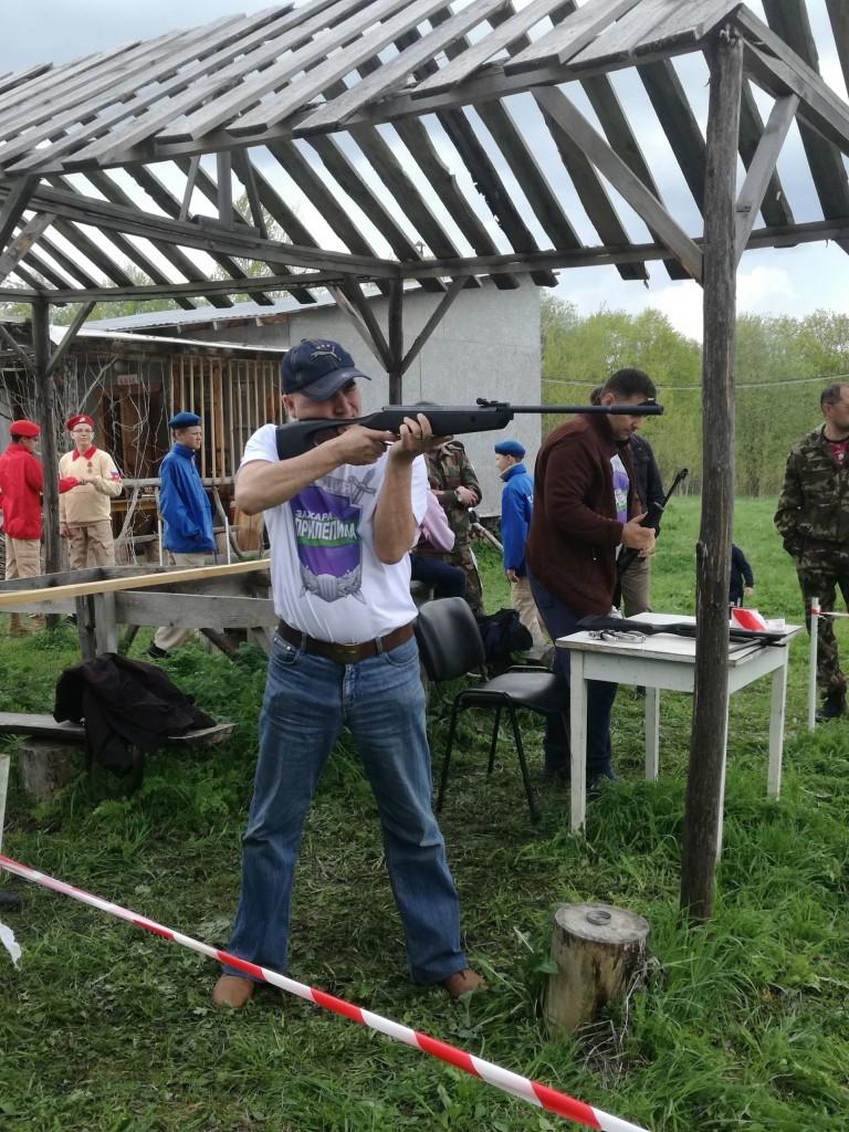 Первенство по стрельбе из пневматической винтовки в Тверской области 2