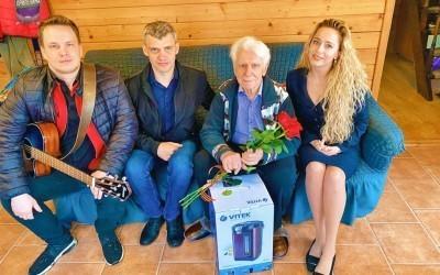 В ТиНАО поздравили последнего в Роговском ветерана ВОВ