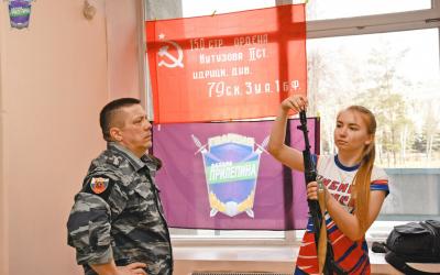 Нескучное военно-патриотическое мероприятие для новокузнецких студентов