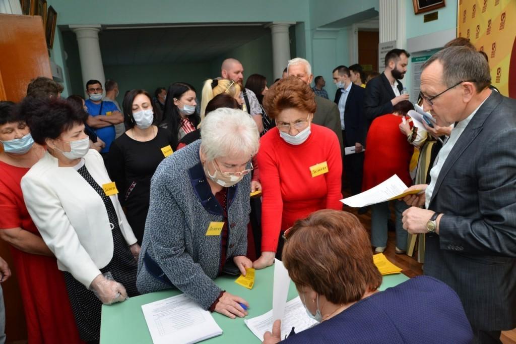 В Курске прошла первая конференция обновленного регионального отделения СРЗП 2