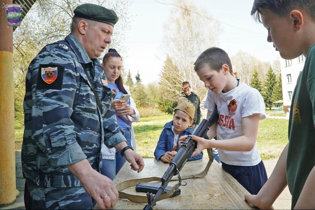 Окрытая тренировка по спортивному ножевому бою в Кульчанах 1