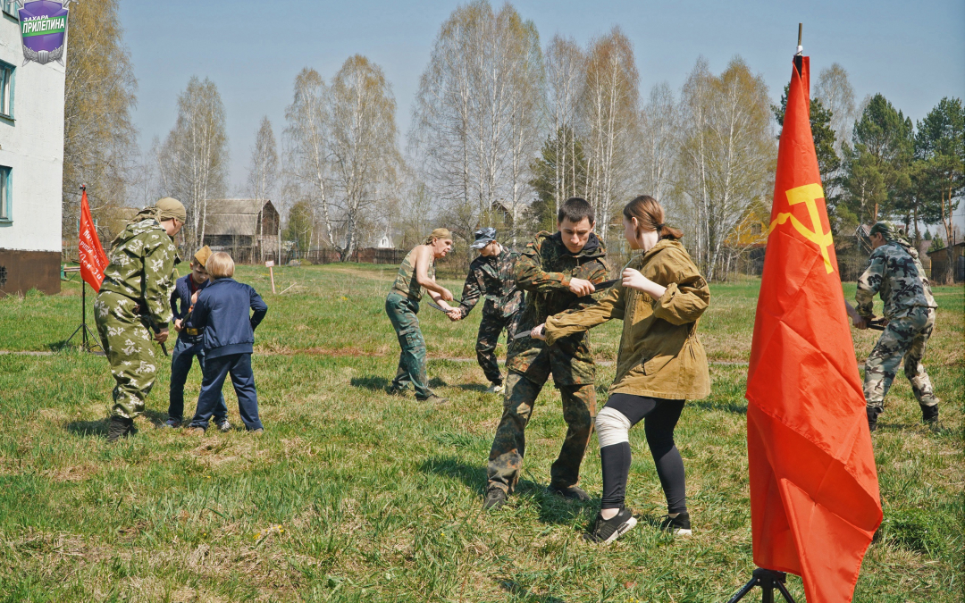 Окрытая тренировка по спортивному ножевому бою в Кульчанах