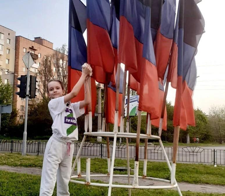 Дети ДНР получили подарки от брянских активистов