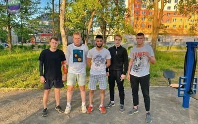 Гвардейцы Волхова – за спорт