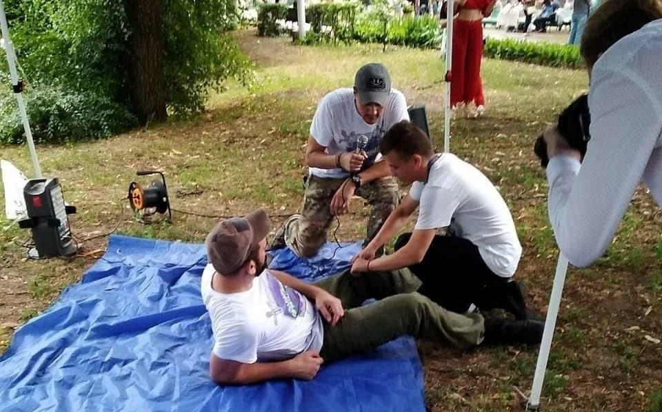 Гвардейцы научили оказывать первую медицинскую помощь