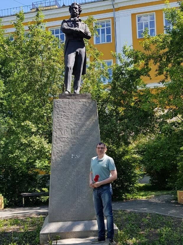 Пушкинский день России в Екатеринбурге – акция у забытого памятника 1
