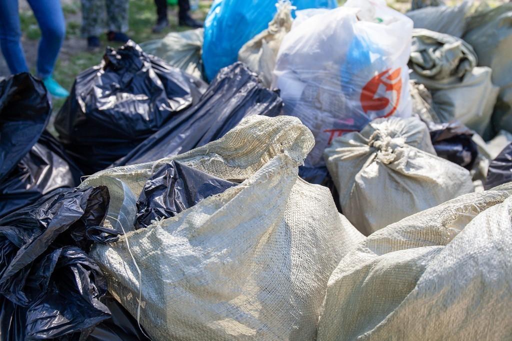 Активисты Движения Захара Прилепина провели субботник на берегу Оки 3