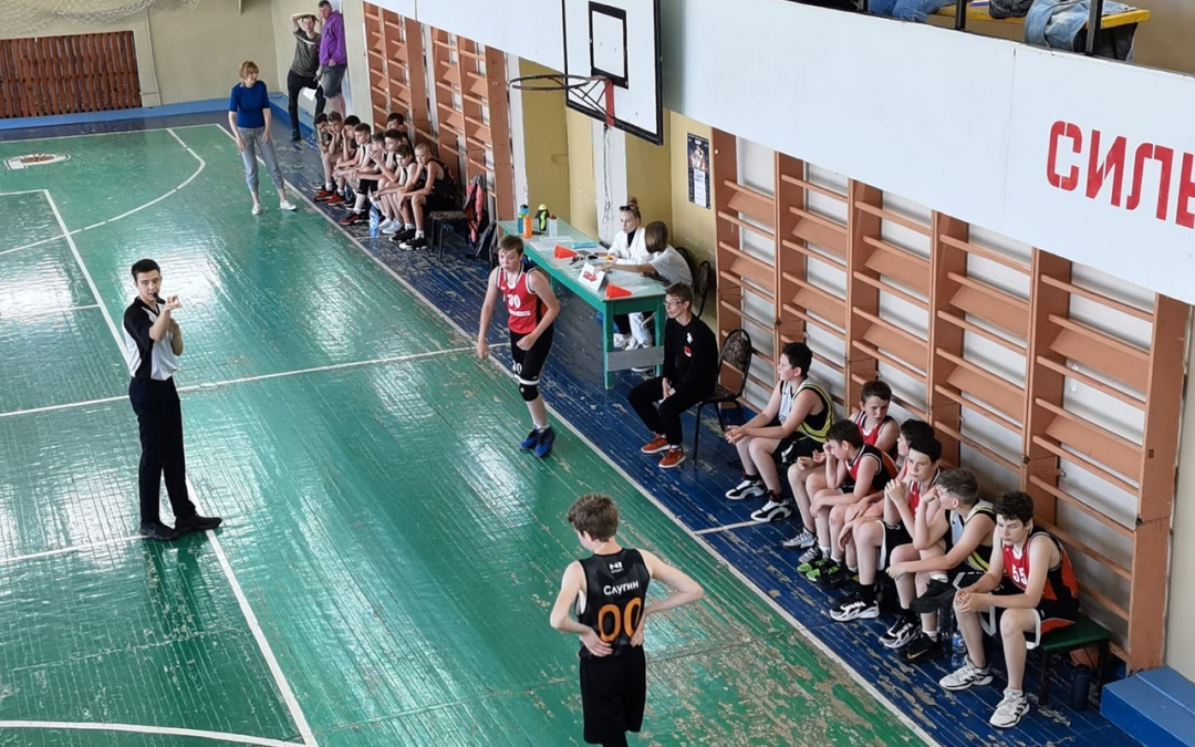 В Павлове при поддержке Движения Захара Прилепина прошел детский турнир по баскетболу