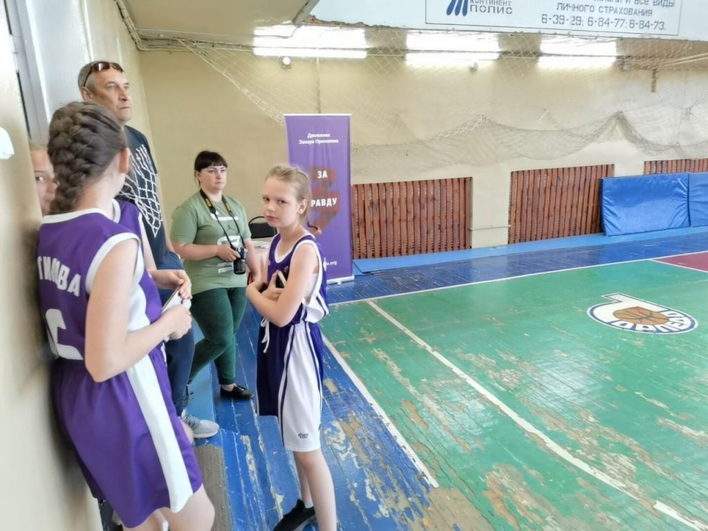 В Павлове при поддержке Движения Захара Прилепина прошел детский турнир по баскетболу 2