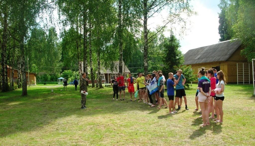 В Рязанской области открылись военно-полевые сборы при участии Гвардии Захара Прилепина 4