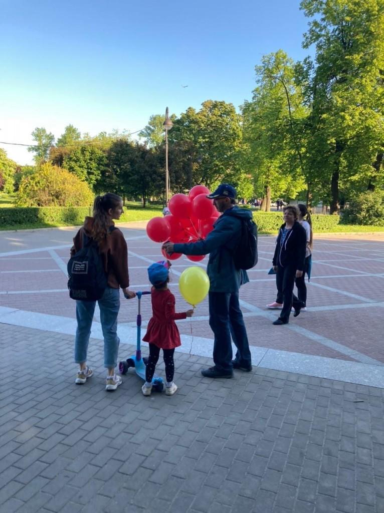 Гвардия Захара Прилепина в Санкт-Петербурге провела мероприятие, посвящённое Дню защиты детей 2