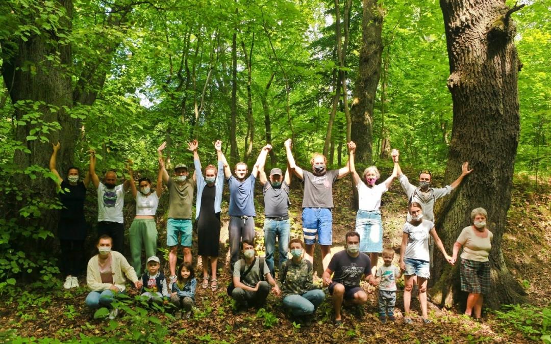 Обними дерево – спаси Суздальский парк
