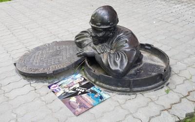 В Екатеринбурге активисты напомнили истинную историю праздника «День России»