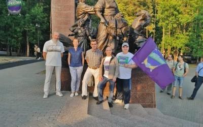Патриотический пробег Уфа – Крым стартовал