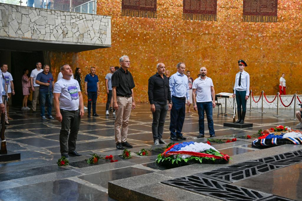 Захар Прилепин находится с рабочим визитом в Волгограде 3