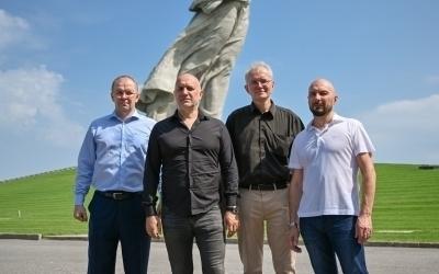 Захар Прилепин находится с рабочим визитом в Волгограде