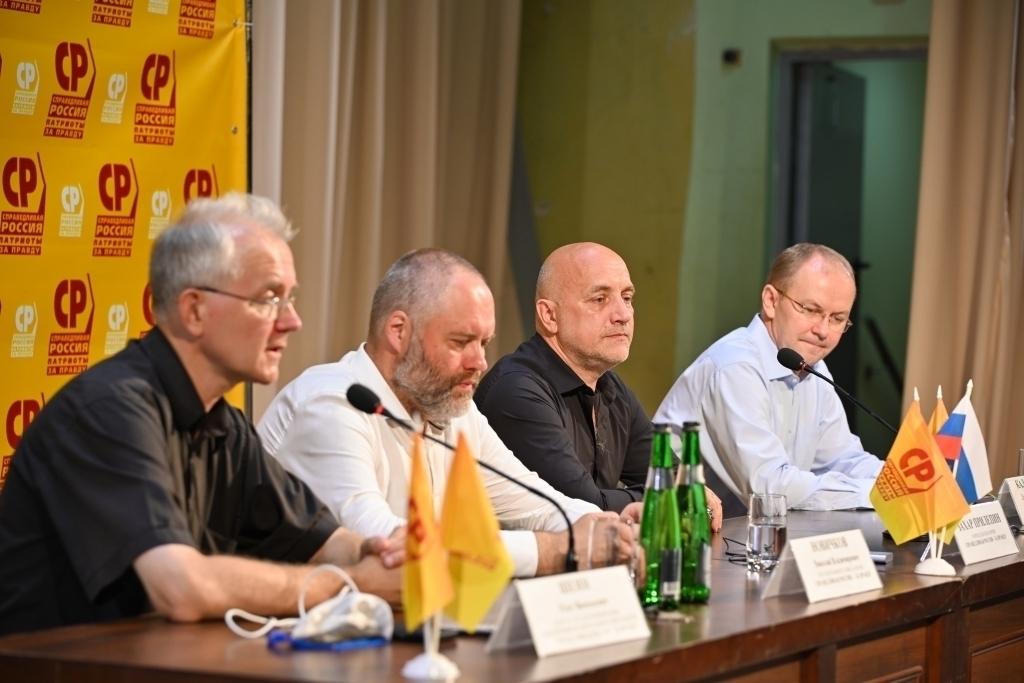Захар Прилепин находится с рабочим визитом в Волгограде 8