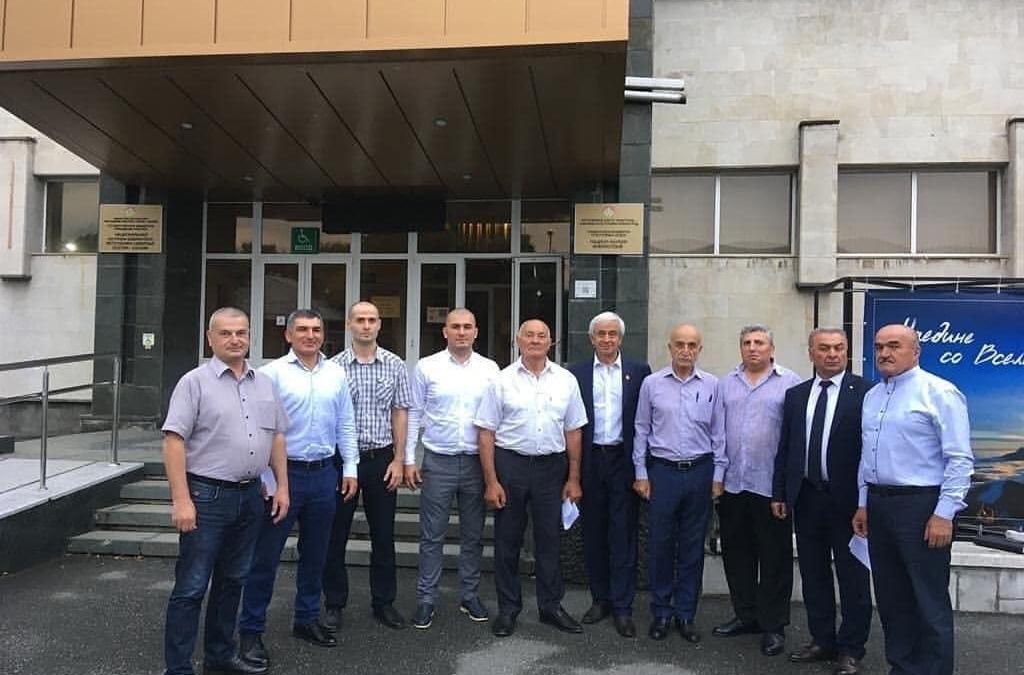 Рабочая встреча по гражданским вопросам во Владивостоке