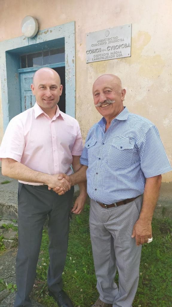 Николай Стариков приехал в Калининградскую область с рабочим визитом 3