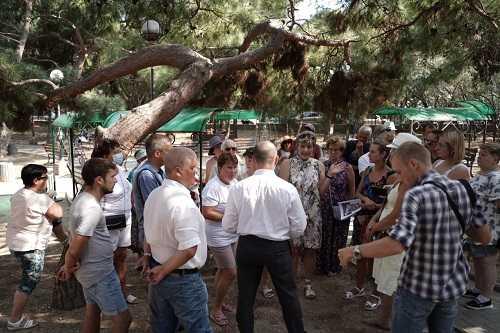 Николай Стариков будет разбираться в вопросе застройки Форосского парка 2