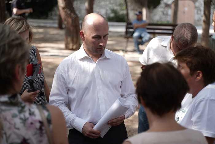 Николай Стариков будет разбираться в вопросе застройки Форосского парка 1