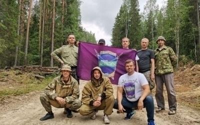 Гвардейцы помогли ликвидировать пожары в Карелии