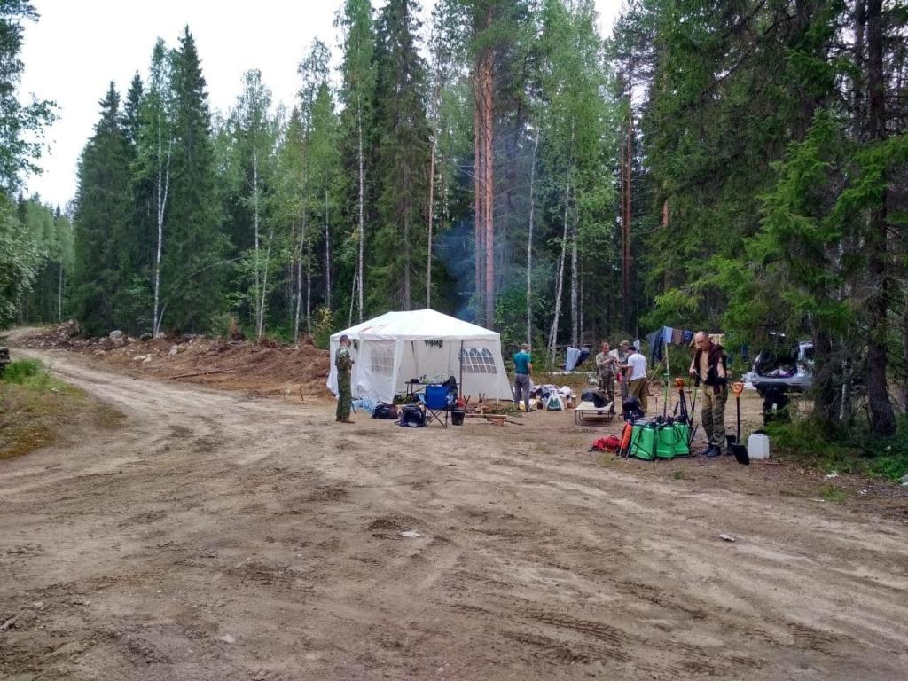 Гвардейцы помогли ликвидировать пожары в Карелии 2