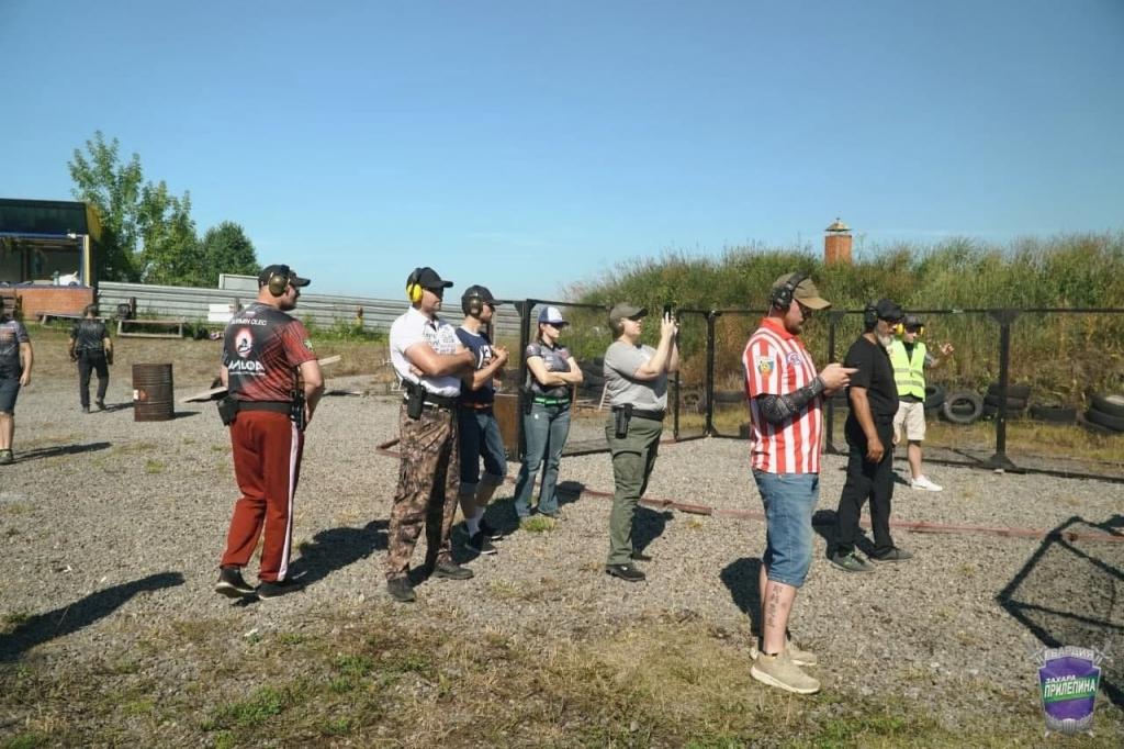 Соревнования по стрельбам под руководством гвардейцев 1