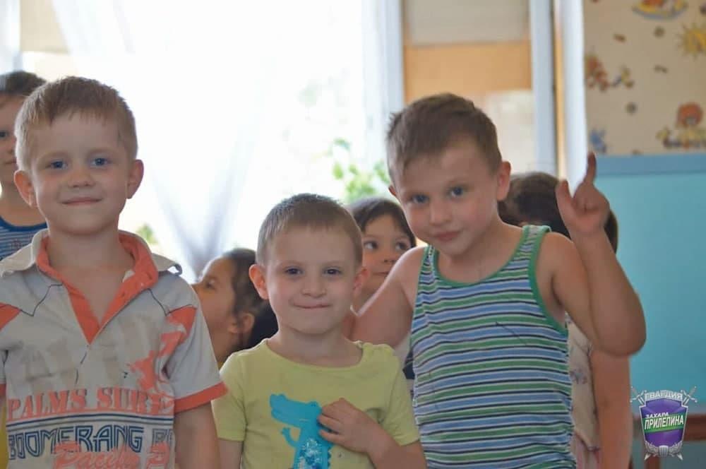 Гвардейцы оказали помощь детскому приюту в Донецке 3