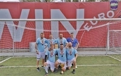 Команда Гвардии Захара Прилепина заняла призовое место в турнире по футболу