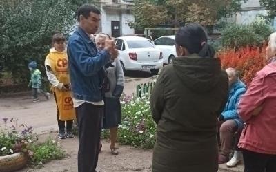 Артем Чеботарев провел встречу с жителями