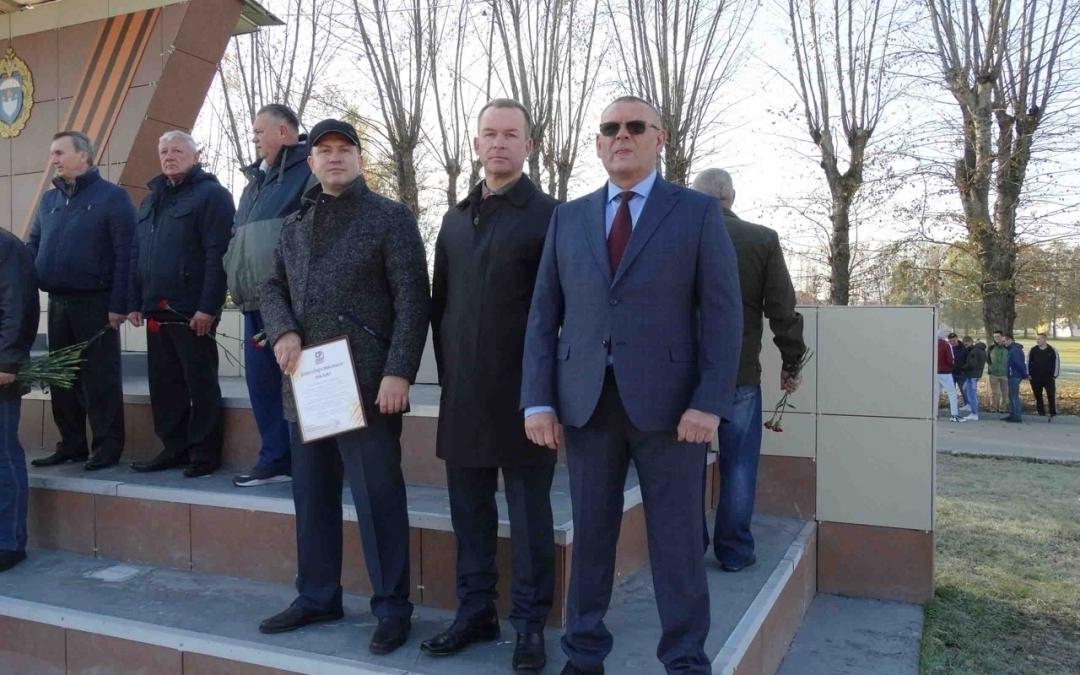 В Рязани состоялся торжественный митинг, приуроченный к 73-й годовщине образования воинской части